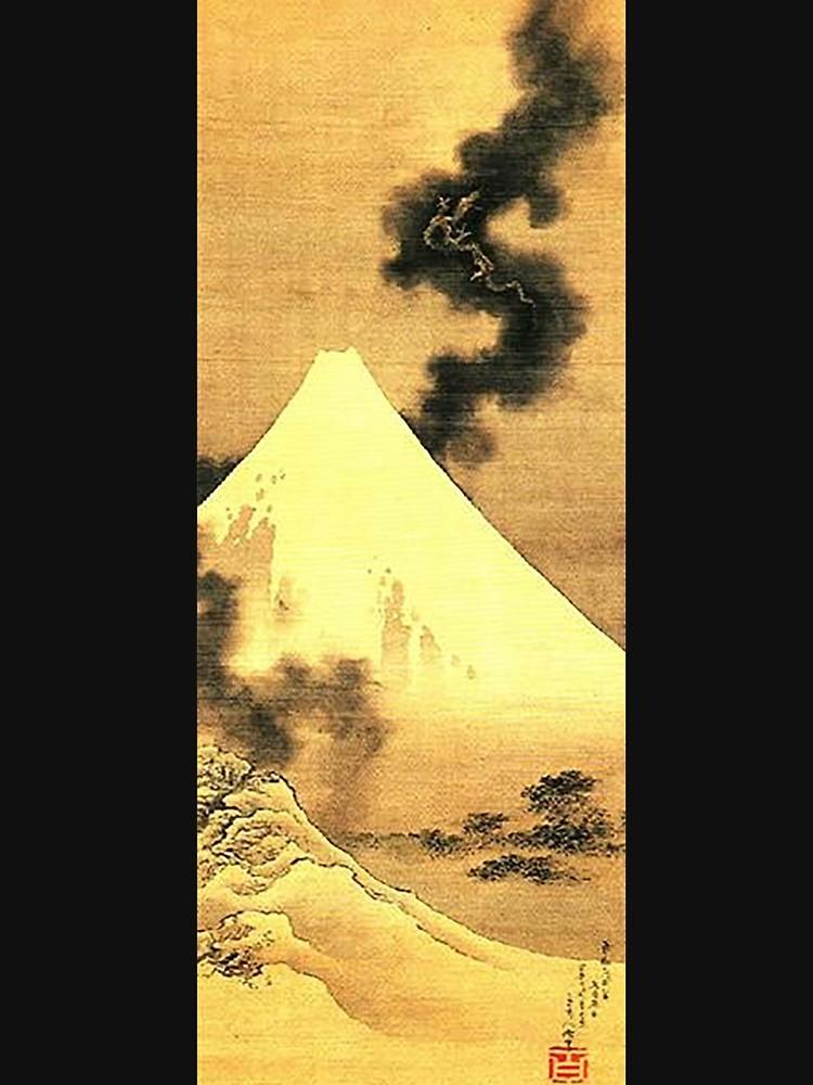 Hokusai Dragon