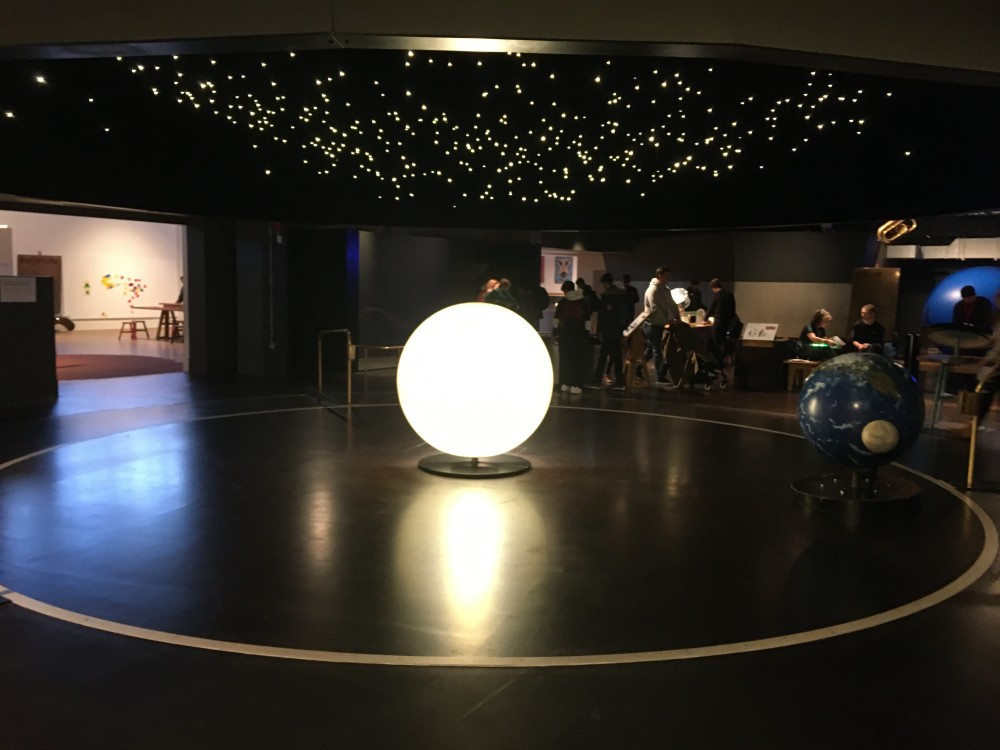 Inside the Science Museum Wonderlab, where the first Aspiration Day took place