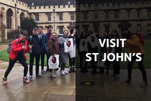 Visit St John's: Click here to learn about visiting St John's College with your pupils.