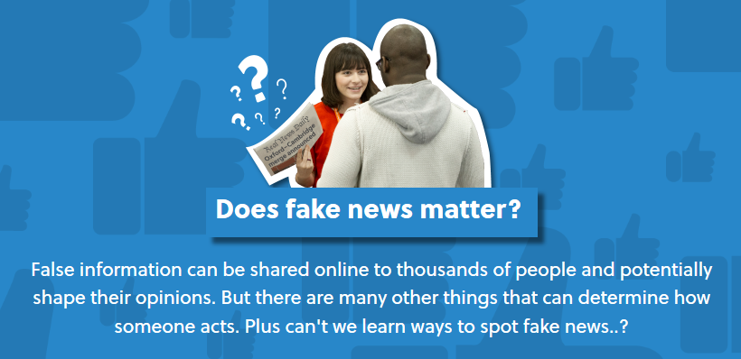 Does fake news matter? (Oxplore)