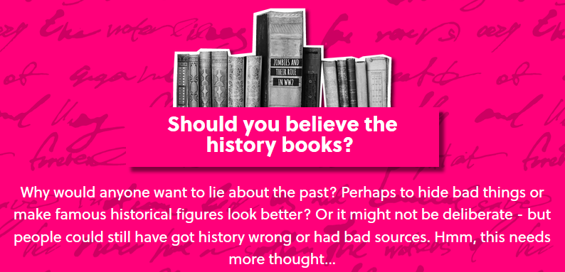 Oxplore: Should you believe the history books?